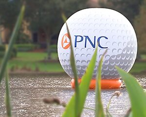 PNC golf ball