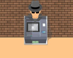 mysterious man at ATM