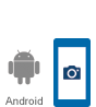 Android devices capable of PNC Mobile Banking and Mobile Deposit.